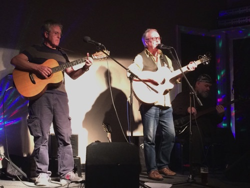 Phil Riley & Neil Mercer Kontra Roots Club 14/10/16