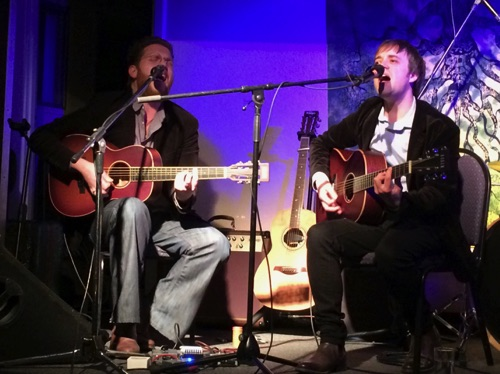 Ben Smith & Jimmy Brewer Kontra Roots Club 24/2/17