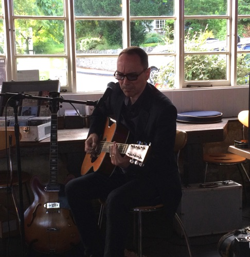 Kris Dollimore Old Forge Coffee Shop 16/6/17