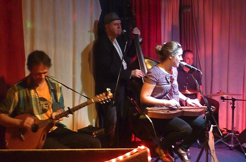 Kim Lowings & The Greenwood Kontra Roots Club 22/5/15