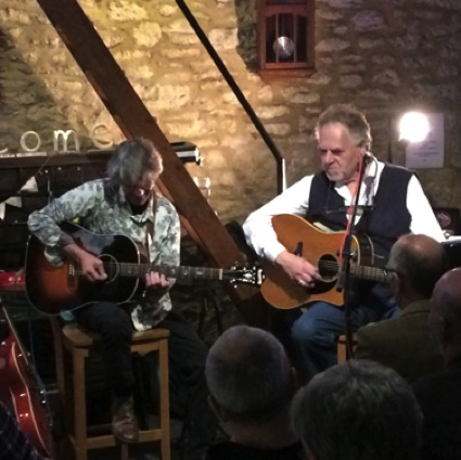 GRAHAM ROBINS & Chris Newman, 6th April, 2018